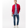 Brax Retro Classic Men's Ultralight Blouson Jacket Coat - Red 94-2077
