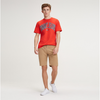 TOMMY JEANS MEN Essential Chino Short - Tigers Eyes DM0DM05444