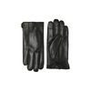 Matinique Gray Leather Gloves - Black 30203013
