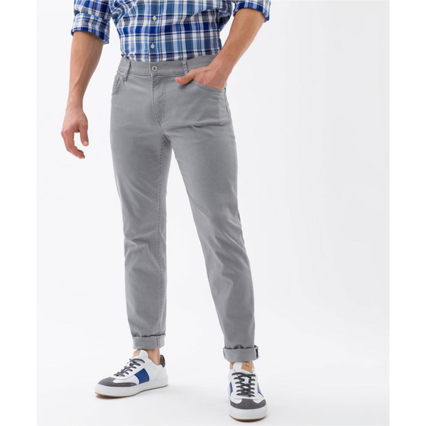 Brax Cadiz Straight Cotton Jeans 82-1527 - Grey