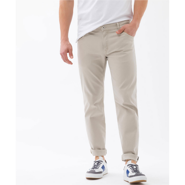 Brax Mens Hi-Flex Superstretch 82-1457 Chuck - Beige