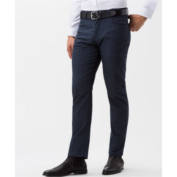 Brax 83-1727 Wool Look Jeans - Midnight