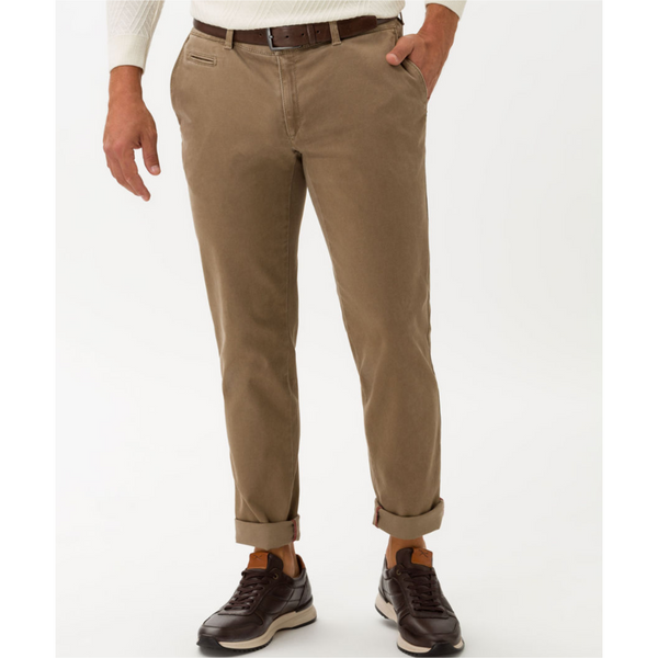 Brax Hi-FLEX ultra-elastic slim chinos Fabio - Walnut 85-1647