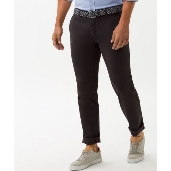 Brax Hi-Flex: Super-elastic Slim Chino 83-1647 Fabio - Anthracite