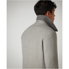 Remus Tapered Fit Wool-Mix Overcoat 90326 Rowan - Grey