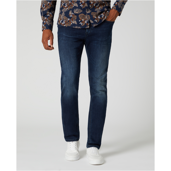 Remus Apollo Slim Stretch Jeans - Dark Blue