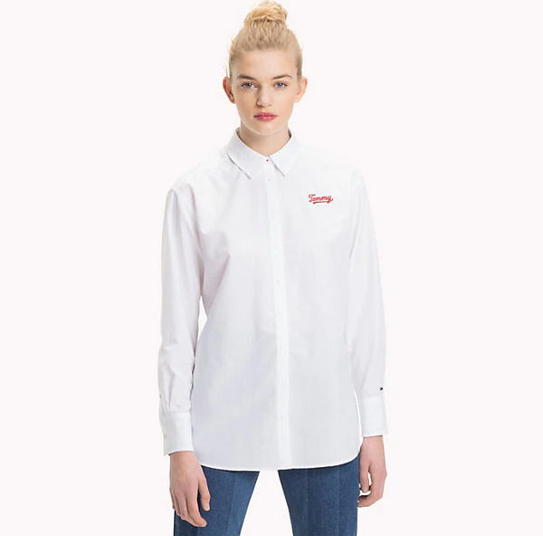 Tommy Jeans Logo Boyfriend Fit Shirt 5260