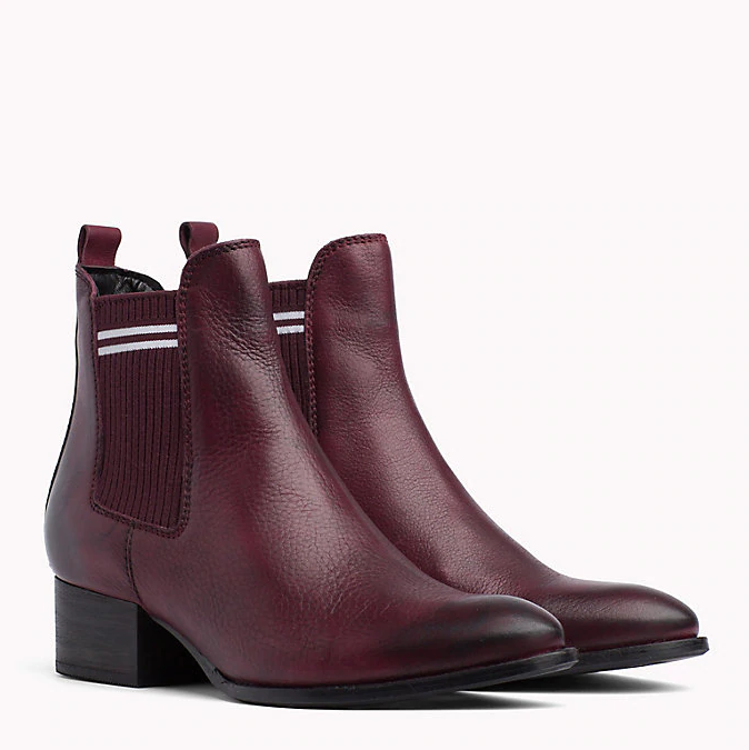 Tommy Jeans Decadent Chocolate Sock Chelsea Boot 0328