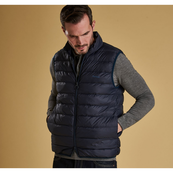 Barbour Bretby Fibre Down Gilet - MGI0024 Navy