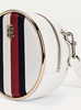 Tommy Hilfiger STATEMENT CIRCLE CROSSOVER  WHITE BAG 8530