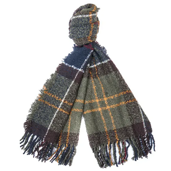 Barbour Boucle Scarf LSC0120-Classic Tartan