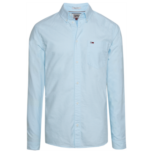 Tommy Jeans Men's Classic Oxford Shirt DM05988 - Green