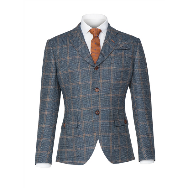 Gibson London The Anthenaeum Checked Tweed Jacket G19134