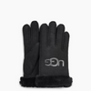 Ugg SHEEPSKIN LOGO Gloves IN Black
