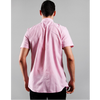 Barbour Gingham 27 Tailored Short Sleeve Shirt Pink MSH4962