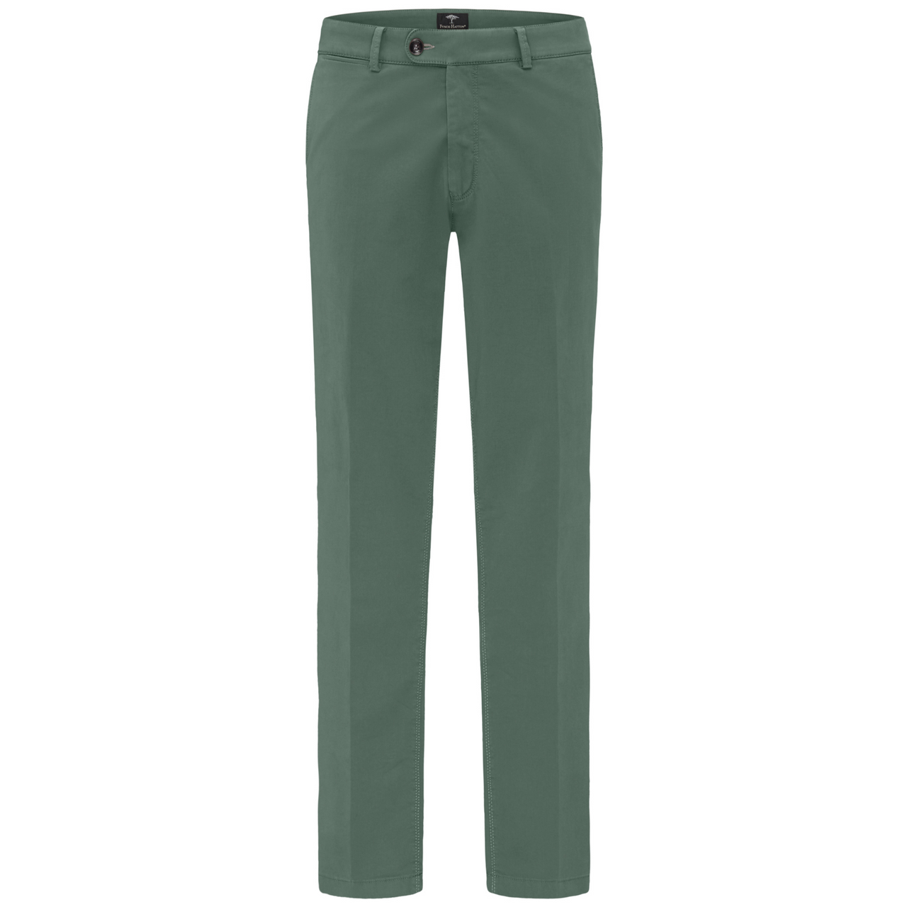 Fynch Hatton Trousers Zambia Pima Power stretch 1120-2805 Casual Fit - Green