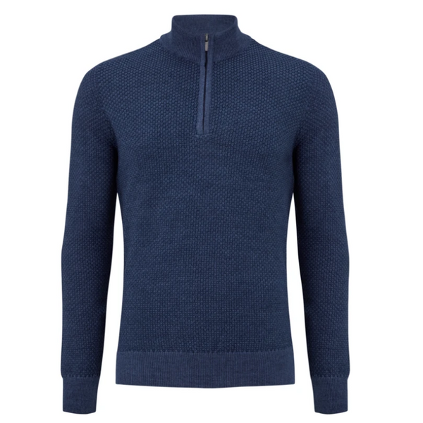 Remus Half Zip Turtle Neck Jumper 58622