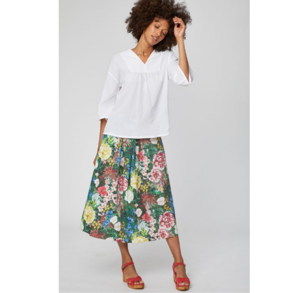Thought Leolani Floral Midi Skirt WSB4182
