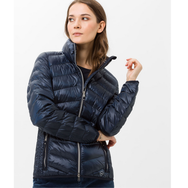 Brax Bern Navy Quilted Jacket 95-6317