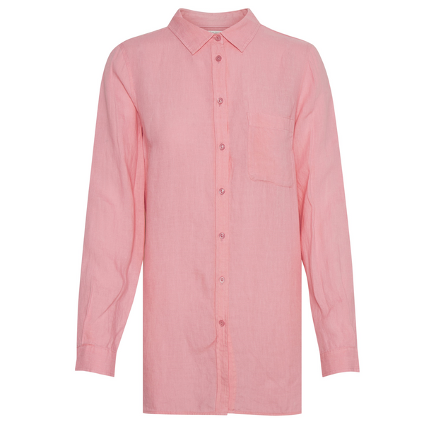Part Two Kiva Linen Shirt Sea Pink 5054