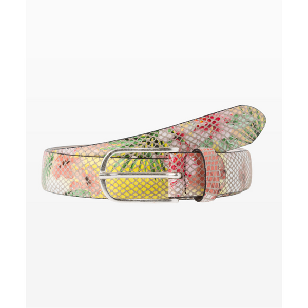 Brax WOMEN'S BELT Snakeskin papaya C54-0867