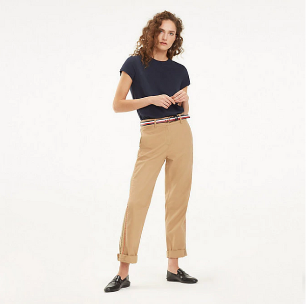 Tommy Hilfiger Aleeza  RECYCLED COTTON TWILL Chino 24619