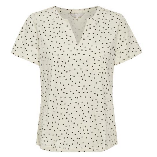 PART TWO GESINA POLKA DOT COTTON TEE 5788 57885788