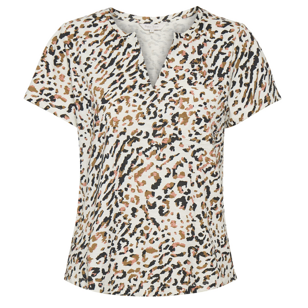 Part Two Gesina Leopard Print Cotton Tee 5788