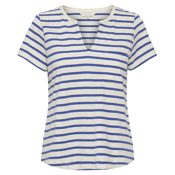 PART TWO GESINA ULTRAMARINE STRIPE COTTON TEE 5788 5788