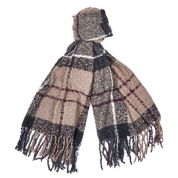 Barbour Boucle Scarf LSC0120-Winter Dress