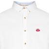 Colours And Sons Oxford Cotton Shirt Lips - White 9220-230-231