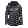 BARBOUR AILITH QUILTED JACKET IN ASH GREY LQU0958