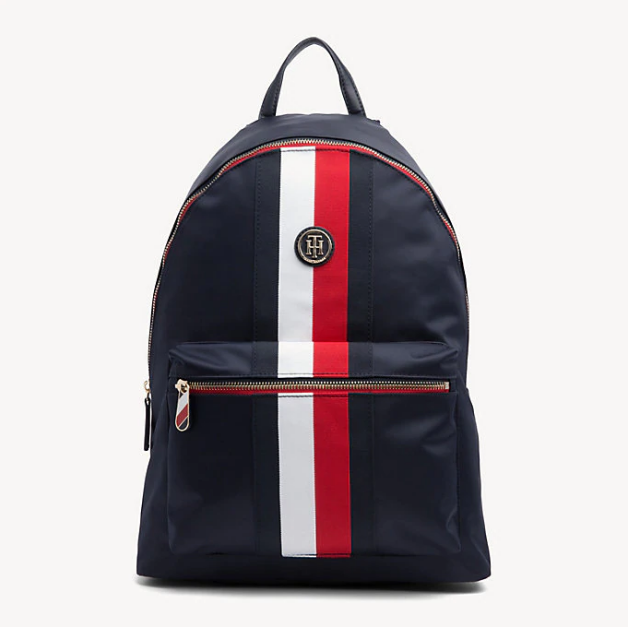 53f3e663c6 Tommy Hilfiger Poppy SIGNATURE TAPE LAPTOP BACKPACK 6861 – Jepsons ...