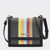 Tommy Hilfiger RAFFIA RAINBOW STRIPE CROSSOVER BAG 8390