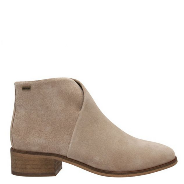 Barbour Caryn Ankle Boot in Sand Suede LFO0405