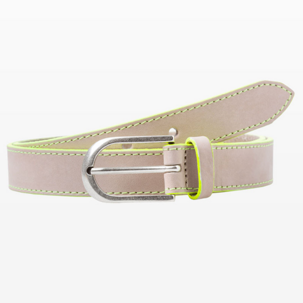 BRAX YELLOW LEATHER NEON HIGHLIGHT BELT54-0947/65