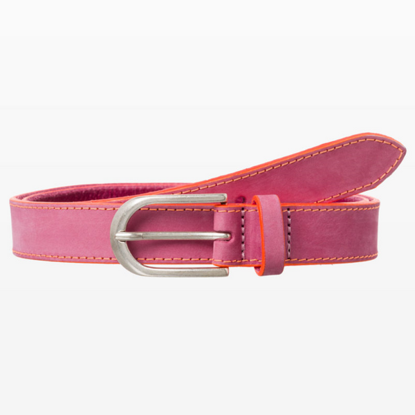Brax Pink Leather Neon Highlight Belt 54-0947/85