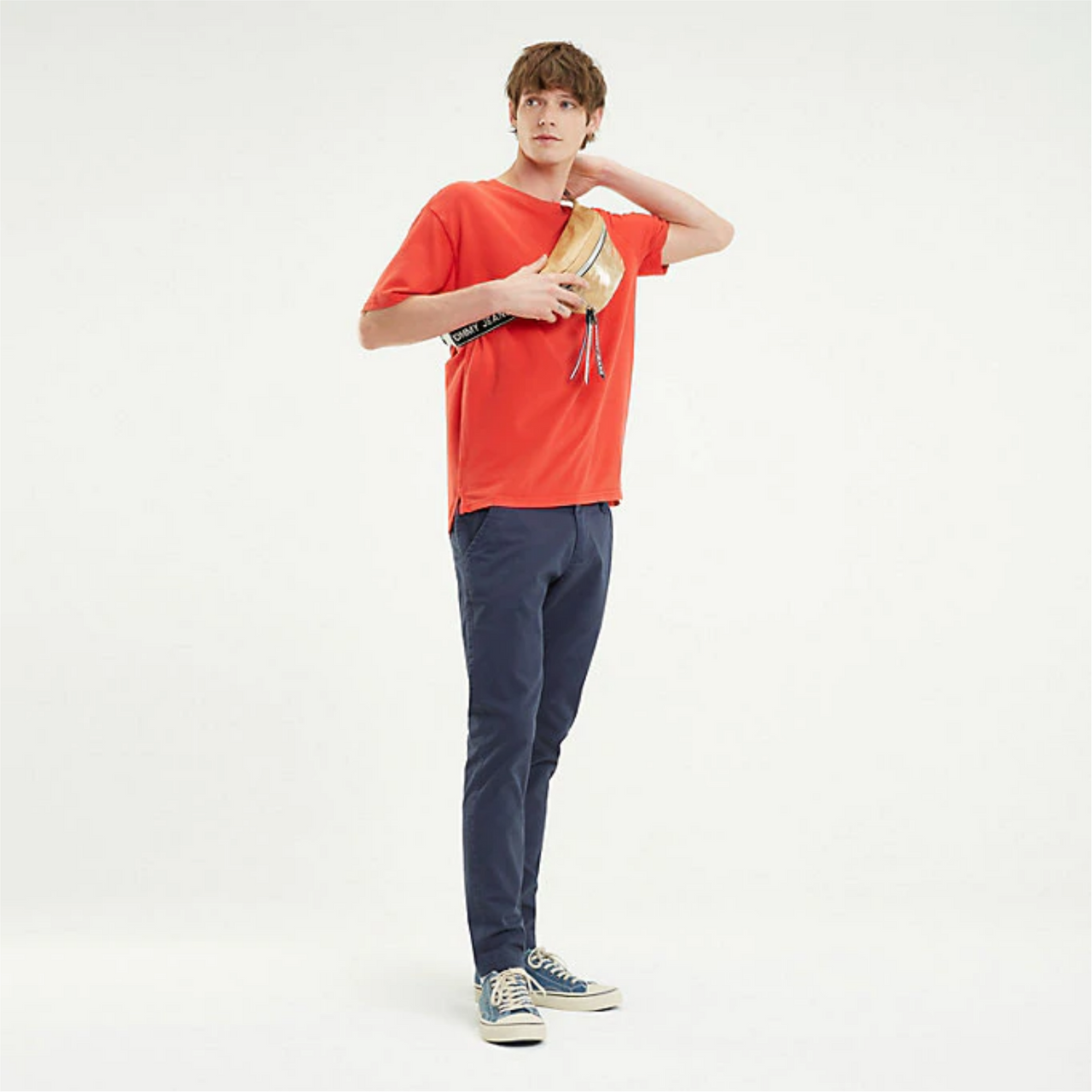Tommy Jeans Stretch Organic Cotton Slim Scanton Chino DM0DM06518 - Navy