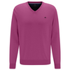 Fynch Hatton V-Neck Cotton Jumper 1120-600 - Blossom