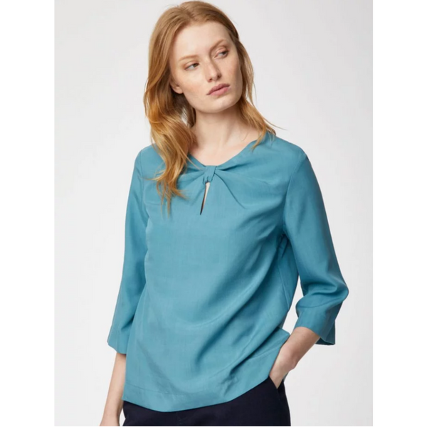 Thought Valentina Box Fit Tencel™ Blouse in 3 Colours WST4685