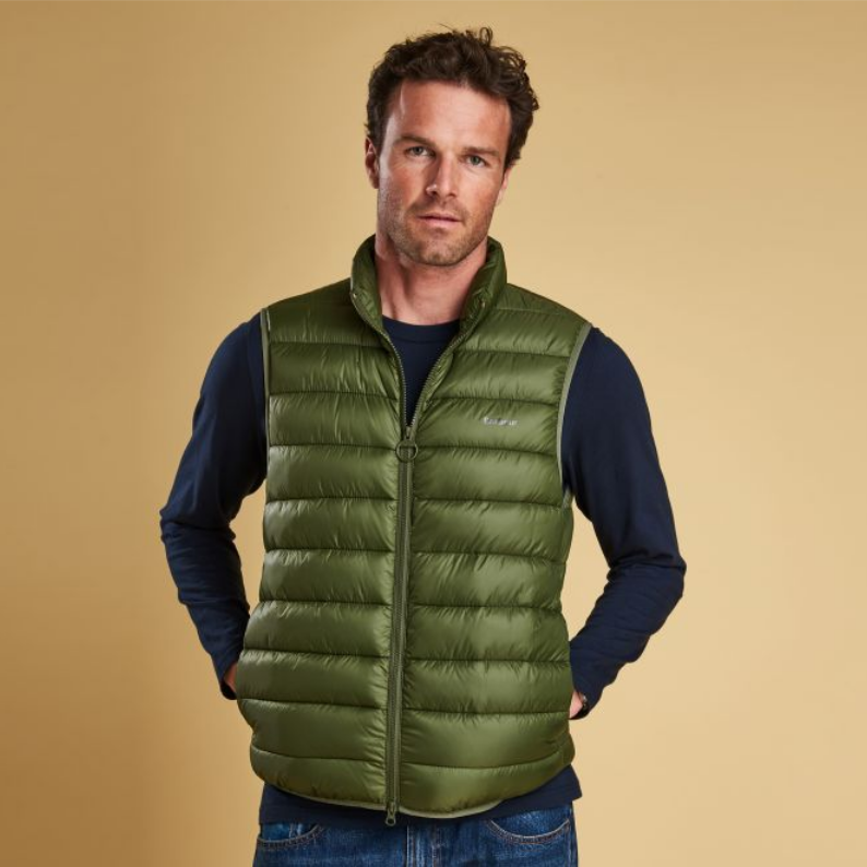 Barbour Bretby Fibre Down Gilet - Olive MGI0024