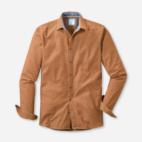 OLYMP Level Five Casual Micro Cord Shirt 3018/64/29
