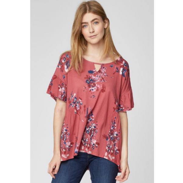 Thought Cassia Printed Jersey Bamboo Tunic WST4153