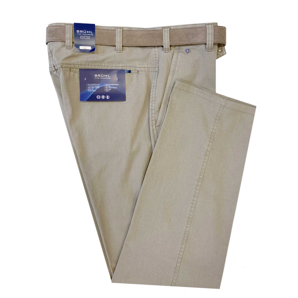 Bruhl Men's Summer Chino Catania B Trousers 184380 - Beige