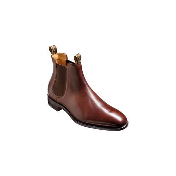 Barker Mansfield Chelsea Boot - Walnut Calf English Leather 4389 Made in England