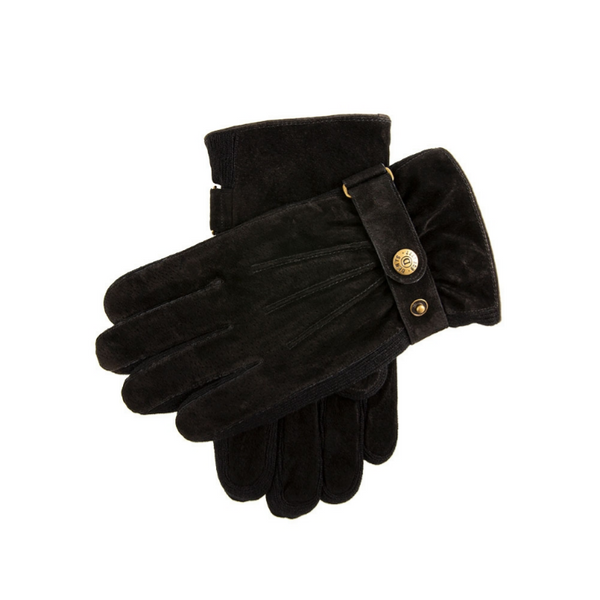 Dents Chester Men's Suede Walking Gloves 5-1617