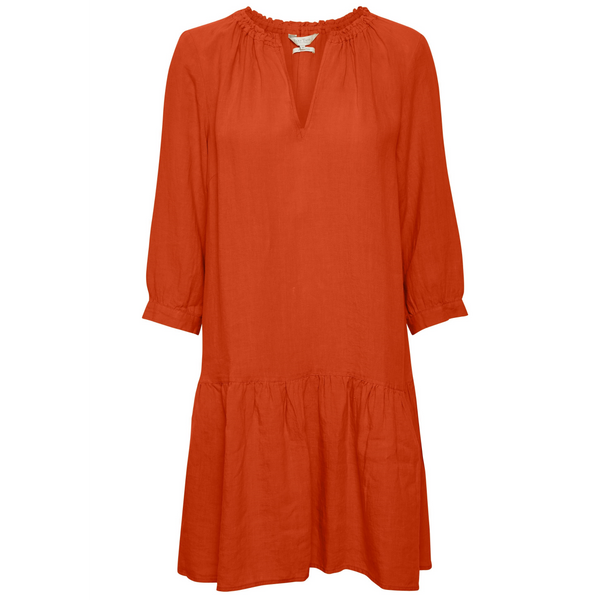 Part Two Chania Chili Linen Dress 5175