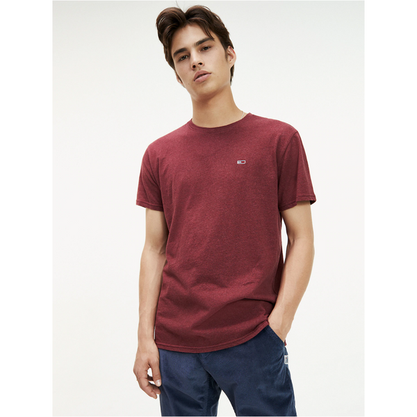 Tommy Jeans 6946 Organic Heather - Burgundy