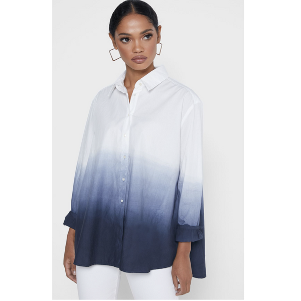 French Connection Cleo Tie Dye Shirt 72NAH