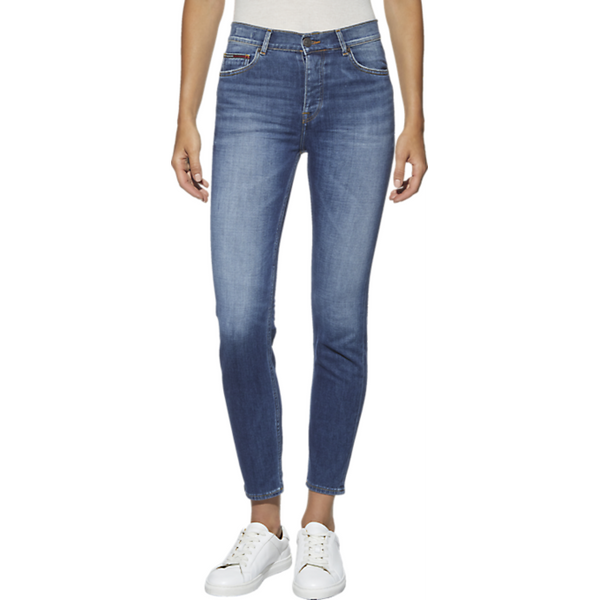 Tommy Jeans Izzy High Rise Straight Leg Jean 4349